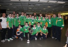 Bronze Medal in European School boy Championships for Kieran Molloy