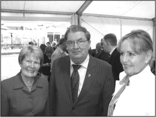 John Hume Visits Oughterard
