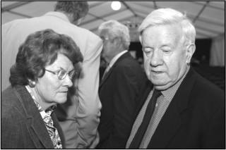 John Hume Visits Oughterard