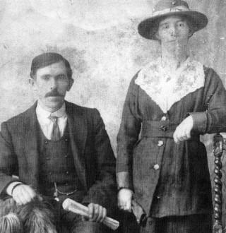 John and Mary Naughton, Camp Street