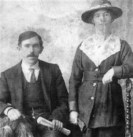 Mary Kate with husband John Naughton