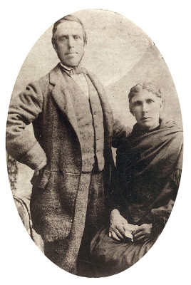 John Darcy and his wife Mary