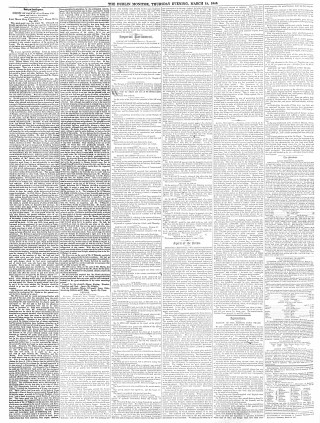 The Dublin Monitor. 1840. Click Image to view