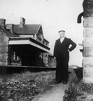 Tom Manion Railway Linesman C. 1937