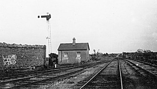 Oughterard Station Pre 1937