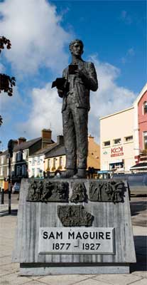 Teh Sam Maguire Memorial in Dunmanway, Co. Cork