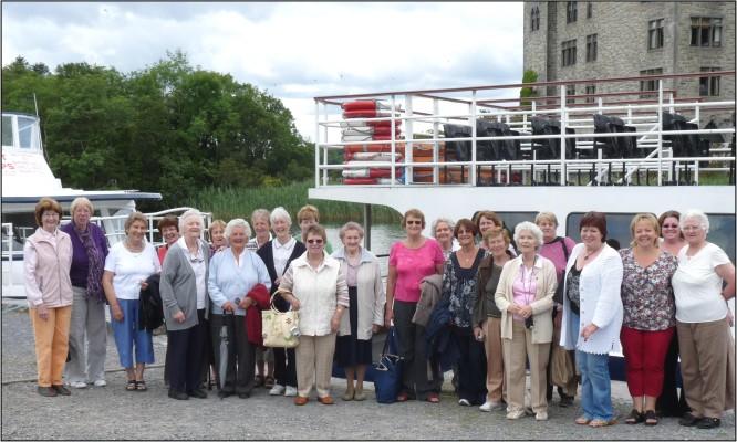 Oughterard Seniors Club's Annual Boat Trip