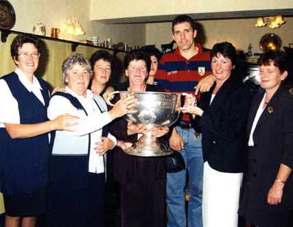 Mary Kyne, Sheila Morley, Maire Ni Mhaille, Mary Croke, Ann Casburn, Kevin Walsh, Patricia Lee, and Phil Kavenagh