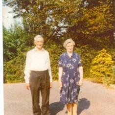 Bernard Stewart. B. 1899. D. 1986. Nora Keaney. B 1899. d. 1978 Corrandulla