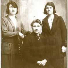 L. to R.: May Stewart, Mary Ellen Keogh. B. 1864 Dublin. D.1942 Galway, Marian Stewart. B. 1907 D. N.Y.