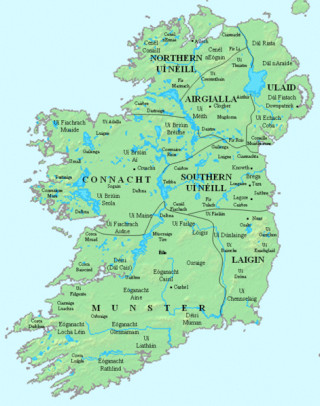 Early peoples and kingdoms of Ireland c. 800