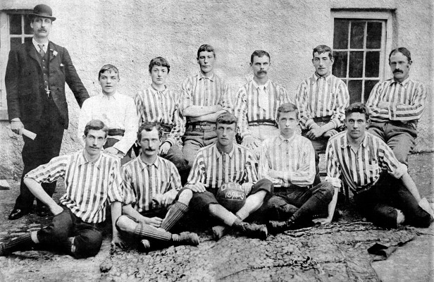 Oughterard Soccer Football Team 1894-95