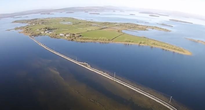 Lough Corrib's largest Island?