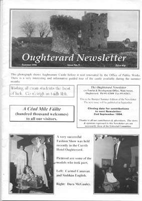 Oughterard Newsletter 1994. Aughnanure Castle