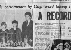 Press cutting 1970. Boxing, the Lee brothers