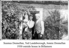 Seamus Donnellan, Ted Landsborough and Johny Donnellan