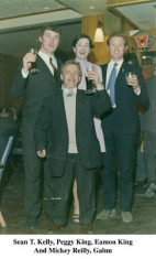 Sean T. Kelly. Peggy King, Eamon King and Mikie O'Reilly, Glann, Oughterard