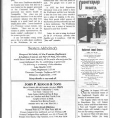 Oughterard Newsletter 1999. Interview with Pat Gibbons