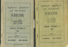 Oughterard Agricultural and Horticultural Show covers. 1962-1963