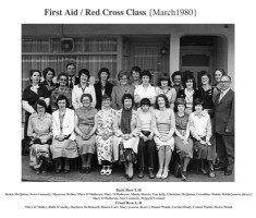 First Aid/Red Cross class