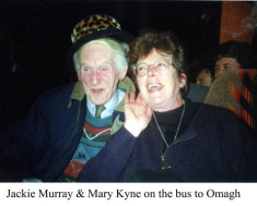 Jackie Murray and Mary Kyne