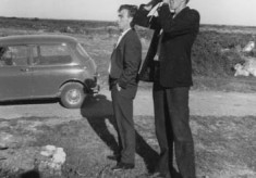 Frank McGauley and Lal Faherty