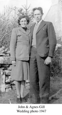 John and Agnes Gill 1947