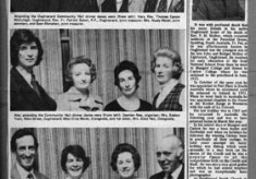 Press cutting 1976. Dinner dance. Rev. P.M. Molloy