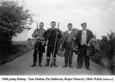 Tommy Mallon, Pat Halloran, Roger Finnerty and Mick Walsh