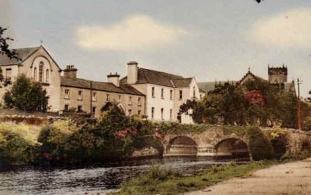 The Convent and Bridge, Oughterard
