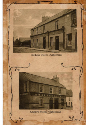 Railway Hotel and The Angler's Hotel, Oughterard