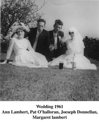 Ann Lambert, Pat Halloran, Joseph Donnellan and Margaret Lambert
