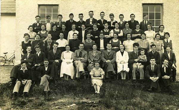 Group Photograph Vocational School c.1940