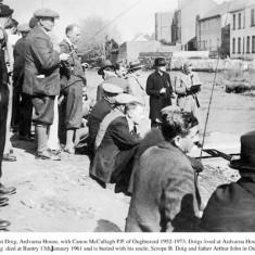 Fishing competition c.1950. Owen Riff