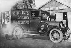 Byrne's Bakery Delivery Van c.1920