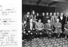 Mick Darcy's Retirement From G.C.C. c.1979