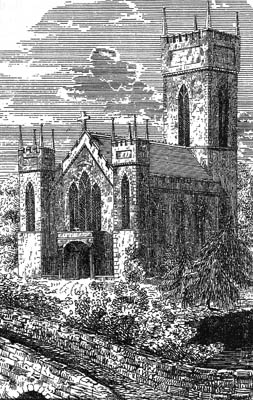 Immaculate Conception Parish Church, Oughterard c.1850