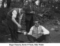 Roger Finnerty, Bertie O'Toole and Mile Walsh