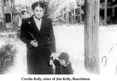 Cecilia Kelly, sister of Jim Kelly, Baurisheen, Oughterard