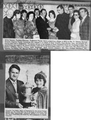 Press cutting 1975, 1976. Pioneer Ass. and  Queen of Connemara