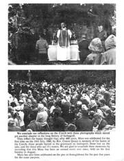 Oughterard Newsletter. Mass on Inchagoill 1960