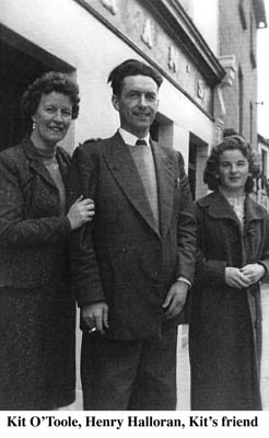 Kit O'Toole and Henry Halloran