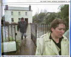Press cutting 1999. Oughterard Food. Teresa Tuck