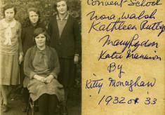 Convent School c.1932/33