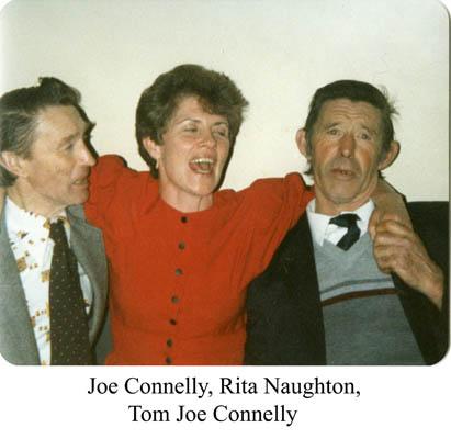 Joe Connelly, Rita Naughton and Tom Joe Naughton