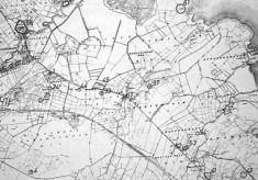 Monument map 1930. Detail, Ardvarna