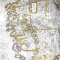 Jannis Aries Military map Of Connaught 1640