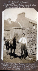 Mark Geoghegan with his Connemara pony