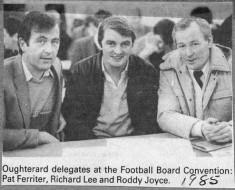 Press cutting 1985. Fotoball Convention Board