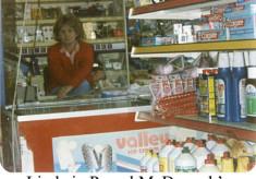 Linda in Pascal McDonagh's shop